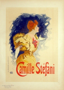 A photograph of Camille Stefani Poster, MAitres de l'Affiche Plate b#12702