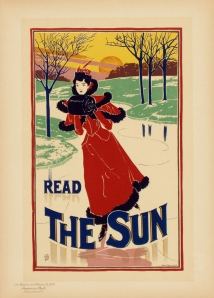 A photograph of Read the Sun Poster, Maitres de l'Affiche Plate #200