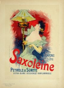 A photograph of Saxoleine Poster, Maitres de l'Affiche Plate #145