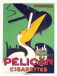 Pelican Cigarettes, circa 1930