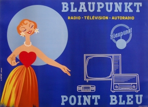The hippest stereo and tv equipment from Blaupunkt