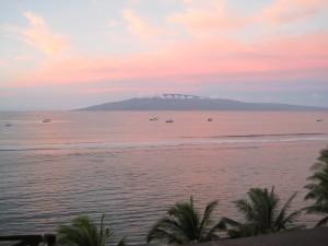 Maui Sunrise over Lanai