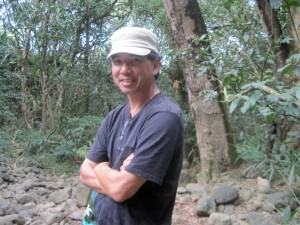 Artscapes' Glenn Young on a hike to Twin Falls