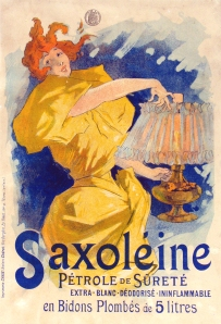 Saxoleine by Cheret, a popular lamp oil