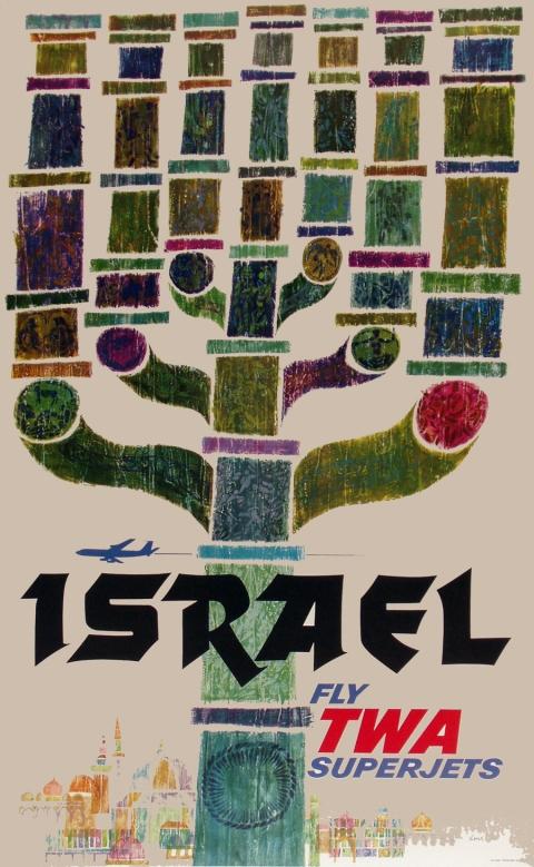 Israel for TWA by David Klein