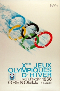French Olympic Poster