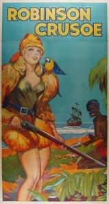 Robinson Crusoe circa 1930