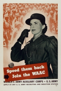 Speed them back. Join the WAAC