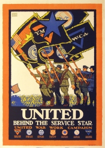 United Behind The Service Star