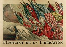 L'Emprunt de la Liberation Poster 1918 by Abel Faivre