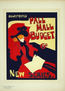 A photograph of Pall Mall Budget Poster, Maitres de l'Affiche plate#24