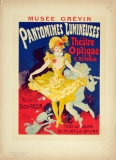 A photograph of Pantomimes Lumineuses Poster, Maitres de l'Affiche #41