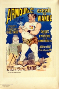A photograph of Amour & Co. Poster, Maitres de l'Affiche plate#163