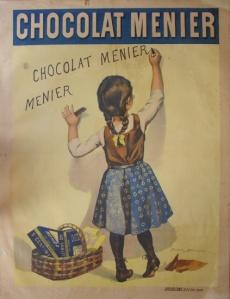 A photograph of Chocolat Menier Poster