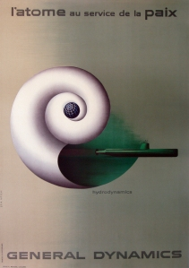 A photograph of General Dynamics Nautilus Poster