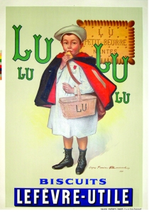 A photograph of LU Poster