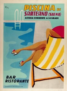 A photograph of Piscina di Sarteano poster