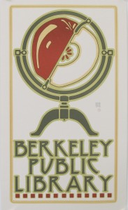 A photograph of Berkeley Public Library Poster