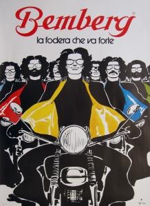 A photograph of Bemberg La Fodera Che Va Forte Poster
