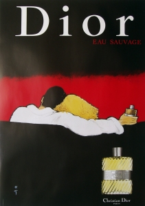 A photograph of Dior (couple) poster