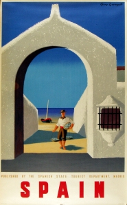 """A photograph of """"Spain (arch)"""" poster"""