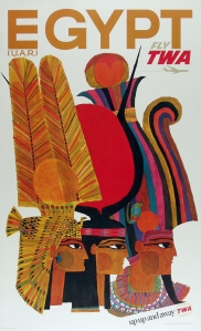 A photo of TWA Egypt Poster