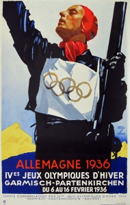 A photograph of Allemagne 1936 Poster