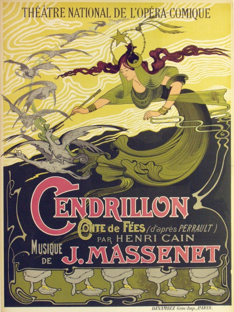 "A photograph of ""Cendrillon"" Poster"