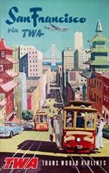Original TWA Poster