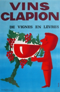 A photograph of Vins Clapion Poster