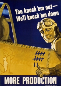 A photograph of You Knock em Out poster