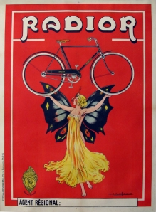 Original Vintage Bicycle Poster