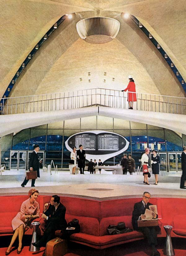 Twa on the cutting edge of design vintage european posters for Hotel at jfk terminal