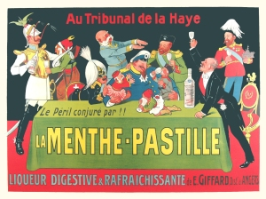 Original Poster for Le Menthe Pastille