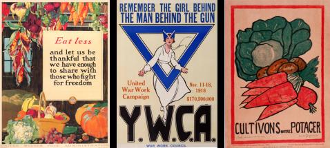 vintage WWI posters, vintage european posters, YWCA