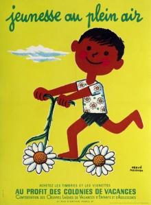 vintage european poster, antique poster