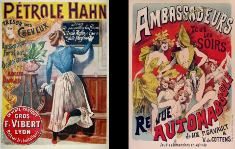 Petrole-Hahn, Ambassaseurs, vintage european poster, antique poster