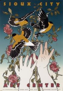 David Lance Goines, original poster