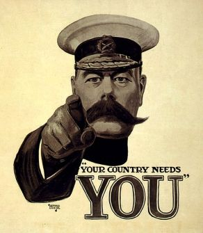 Leete, Your Country Needs You, WWI