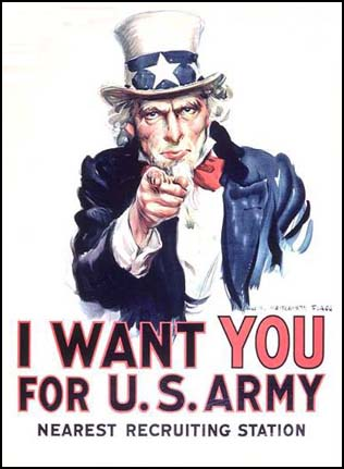 I want you, james montgomery flagg
