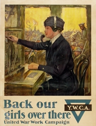 Original American World War One Poster