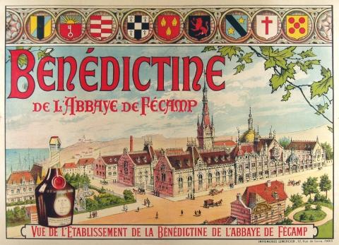 benedictine vintage poster