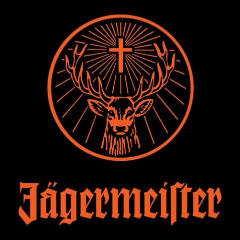The mystical Jagermeister logo