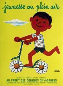 Herve Morvan, Jeunesse au Plein Air (Flower scooter)