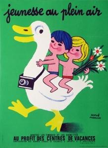 Herve Morvan, Jeunesse au Plein Air (Duck), 1951