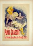 """Original """"Le Punch Grassot,"""" Maitres de l'Affiche Plate 5 by Jules Cheret, 1896"""