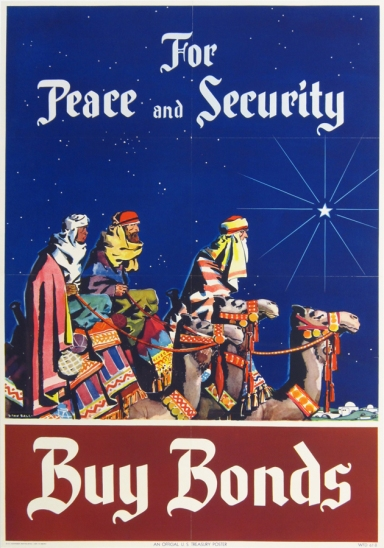 Original WWII Poster by Linn Ball 1945