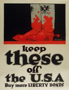 Norton, Keep These off the USA, Printed 1918