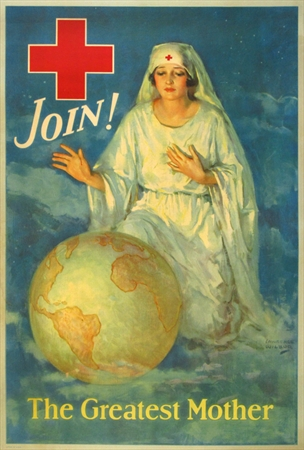 """Join! The Greatest Mother,"" Lawrence Wilbur, Fine Condition."