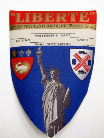 Liberte Original travel poster